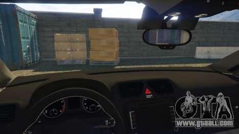 GTA 5 Portuguese Republican National Guard - Scirocco right side view