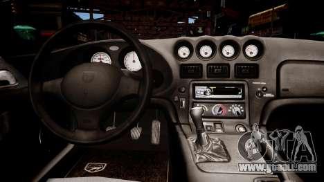 Aston Martin Vanquish NYPD for GTA 4