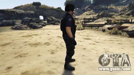 GTA 5 LAPD SWAT Ped second screenshot