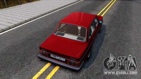 Volvo 244 Turbo for GTA San Andreas back view