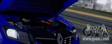 Renault Logan 2016 for GTA San Andreas back view