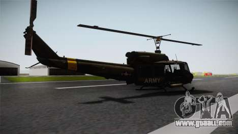 Bell UH-1N for GTA San Andreas left view