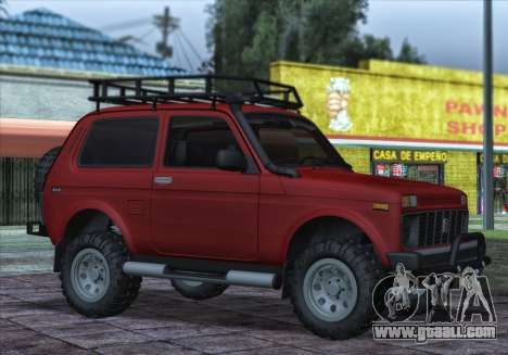Niva 2121 4x4 Offroad for GTA San Andreas
