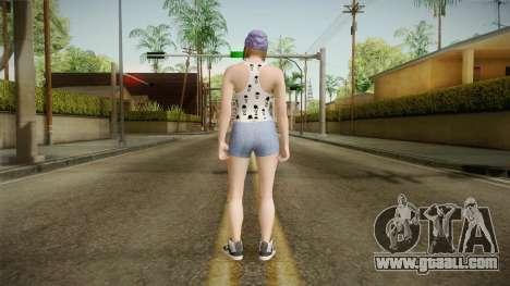 Female Skin 3 from GTA 5 Online for GTA San Andreas third screenshot