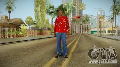 Christmas sweatshirt for GTA San Andreas third screenshot