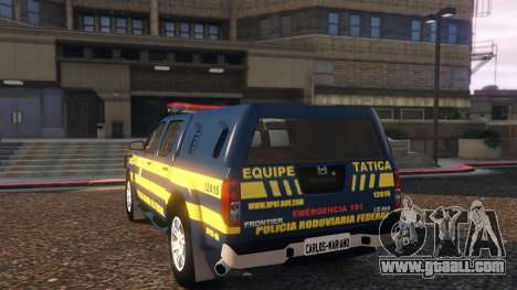 GTA 5 Nissan Frontier PRF rear left side view