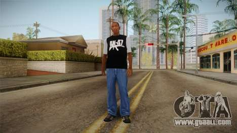 T-shirt AK47 for GTA San Andreas