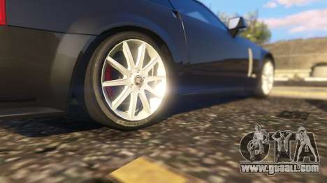 GTA 5 Cadillac XLR-V rear right side view