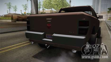 GTA 5 Bravado Bison IVF for GTA San Andreas