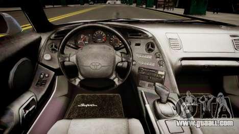 Toyota Supra MKIV 1995 for GTA 4