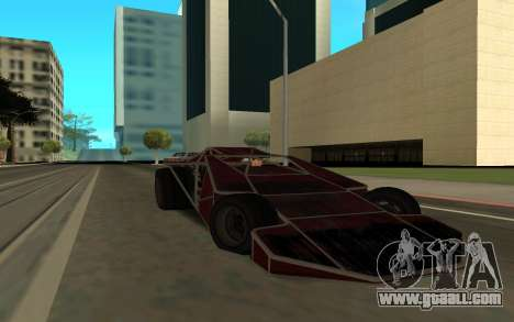 Bf Buggy Ramp for GTA San Andreas