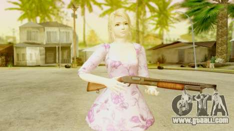 Dead Or Alive 5: LR - Marie Rose Casual Dress for GTA San Andreas