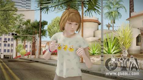Life Is Strange - Max Caulfield PJ Chick for GTA San Andreas