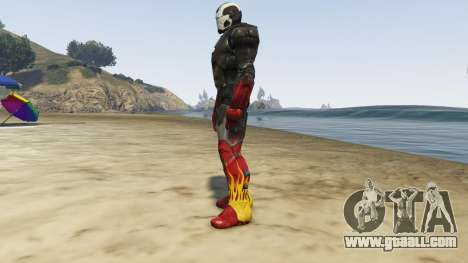 GTA 5 Iron Man Hot Rod