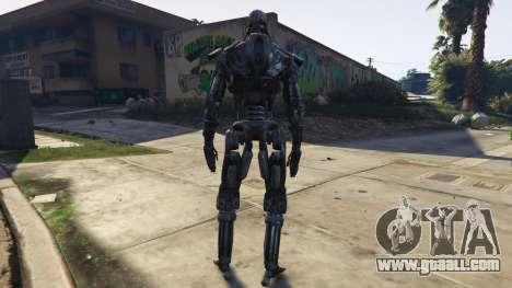 GTA 5 Terminator T-600 1.0 third screenshot