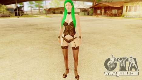Tera Online Erika for GTA San Andreas