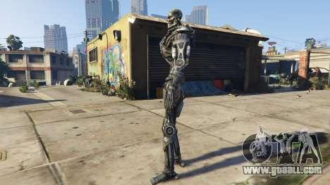 GTA 5 Terminator T-600 1.0 second screenshot