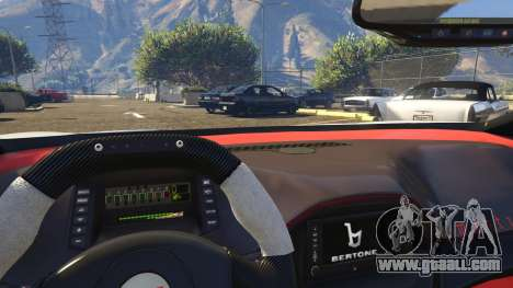 GTA 5 Italy Bertone Mantide 2010 right side view