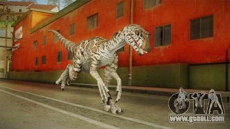 Primal Carnage Velociraptor Snake Skin for GTA San Andreas