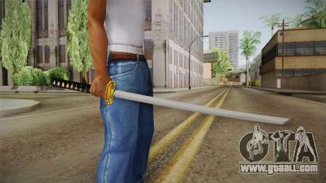 High Poly Katana for GTA San Andreas