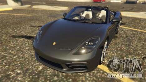 Porsche 718 Boxster S for GTA 5
