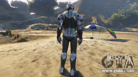GTA 5 Iron Man Mark 2