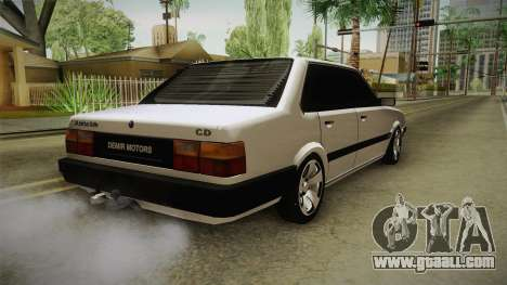 Audi 80 CD for GTA San Andreas back left view