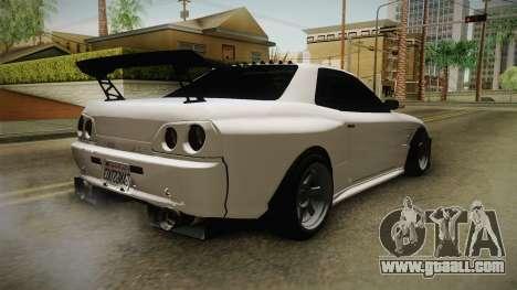 GTA 5 Annis Elegy Retro Custom for GTA San Andreas back left view