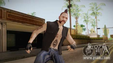 GTA 5 Online DLC Biker v1 for GTA San Andreas
