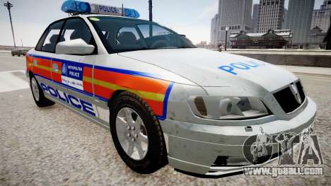 Met Police Vauxhall Omega for GTA 4