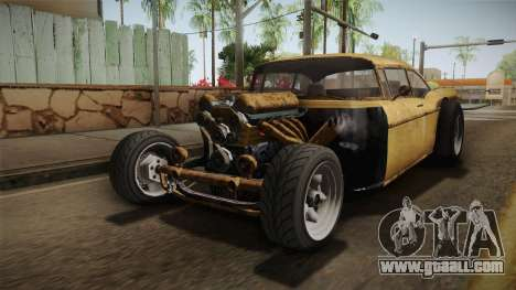 GTA 5 Declasse Tornado Rat Rod IVF for GTA San Andreas