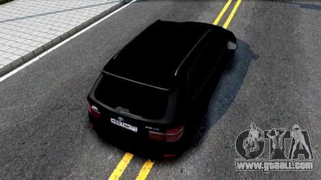 BMW X5M E70 2011 for GTA San Andreas