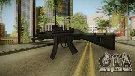 Killing Floor MP5M for GTA San Andreas third screenshot