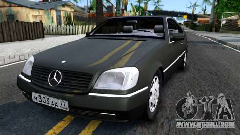 Mercedes-Benz 600SEC 1993 for GTA San Andreas