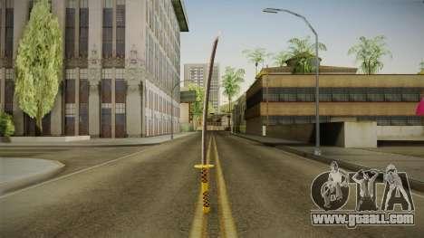 Samurai Sword for GTA San Andreas