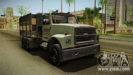 GTA 5 Vapid Scrap Truck v2 for GTA San Andreas right view