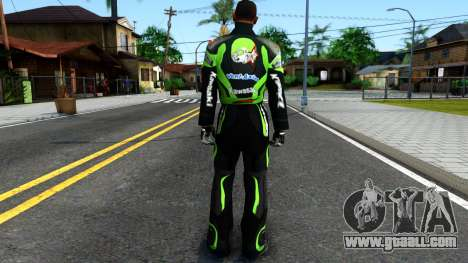 Kawasaki Racing Suit for GTA San Andreas third screenshot