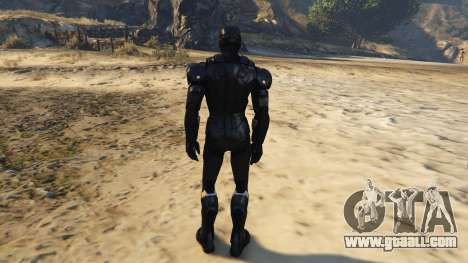 GTA 5 Iron Man Marvel Now third screenshot