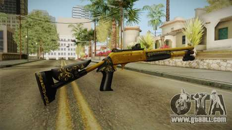 Killing Floor Combat Shotgun Gold for GTA San Andreas