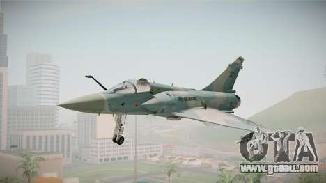 EMB Dassault Mirage 2000-C FAB for GTA San Andreas