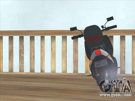 GTA IV Faggio Traveler for GTA San Andreas right view