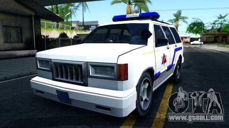 Landstalker Hometown Police Department 1994 for GTA San Andreas
