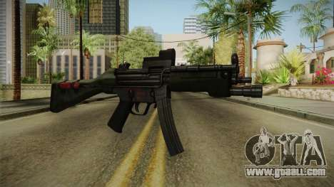Killing Floor MP5M for GTA San Andreas second screenshot