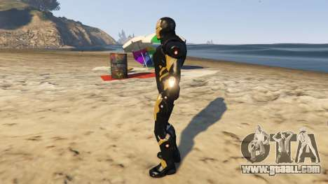GTA 5 Iron Man Marvel Now second screenshot