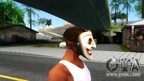 Joker Clan Mask From Injustice Gods Among Us for GTA San Andreas third screenshot