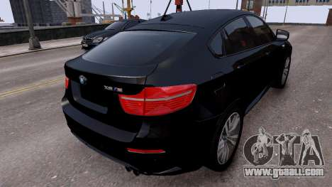 BMW X6M by DesertFox v.1.0 for GTA 4 back left view