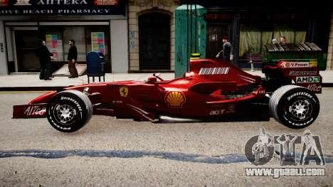 Formula 1 - LaFerrari F2007 for GTA 4