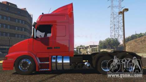 GTA 5 Volvo NH12 R440 left side view