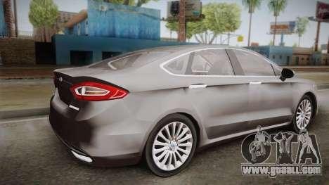 Ford Fusion Titanium 2014 for GTA San Andreas