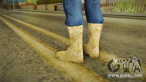 Winter boots for GTA San Andreas second screenshot
